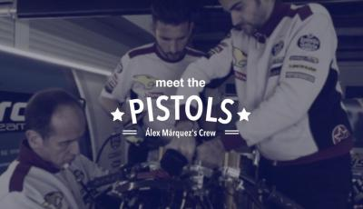 Meet Alex Marquez's team