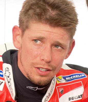 Stoner on Sepang return