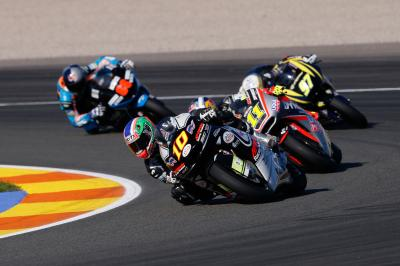 Moto2™ & Moto3™ Teams mit Privattest in Valencia