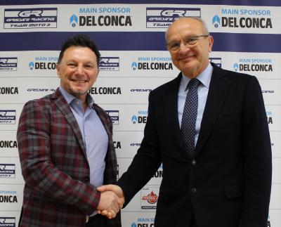Del Conca e Gresini Racing in Moto3™ e Moto2™