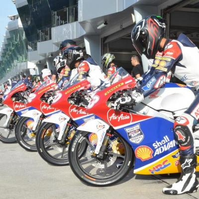 Fin du test de la Shell Advance Asia Talent Cup à Sepang