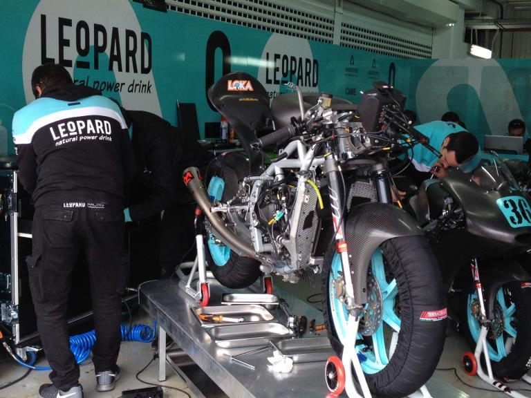 Moto3 Valencia Test