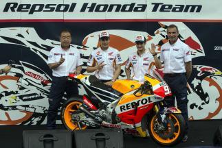 Repsol Honda Team stellt neue RC213V in Indonesien vor