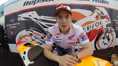 Marquez: 'I'm looking forward to this season'