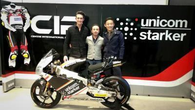Le CIP - Unicom Starker présente son projet Moto3™ pour 2016