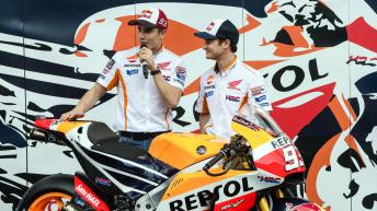 Repsol Honda Team unveil new RC213V in Indonesia