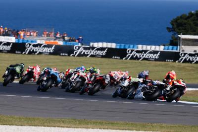 MotoGP™ vuelve a pista con el test de Phillip Island