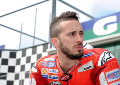 "Dovizioso: ""For me today was a wasted day"""