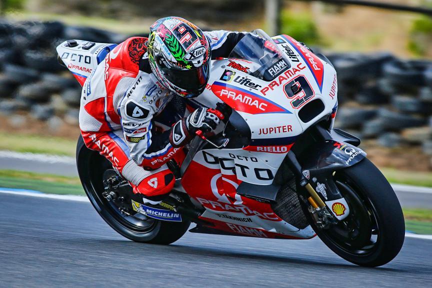 Danilo Petrucci, Octo Pramac Racing, Phillip Island Test