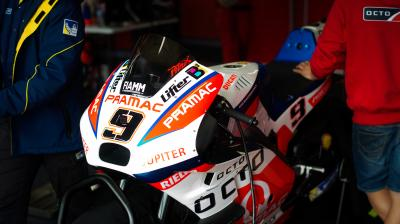 Petrucci tops rain hit first day at Phillip Island