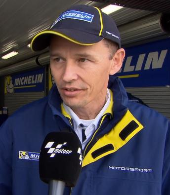 "Goubert: ""It was a great opportunity to test the wets"""
