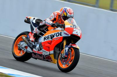 "Pedrosa: ""You never usually have these conditions"""