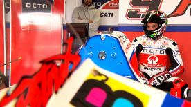 Highlights from the first day of the official MotoGP™ test at Phillip Island that saw Danilo Petrucci top the timesheets.