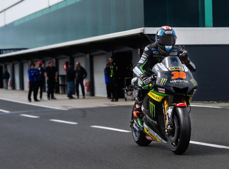 Bradley Smith, Monster Yamaha Tech 3, Phillip Island Test