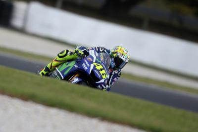 Rossi: 'Des conditions hivernales'