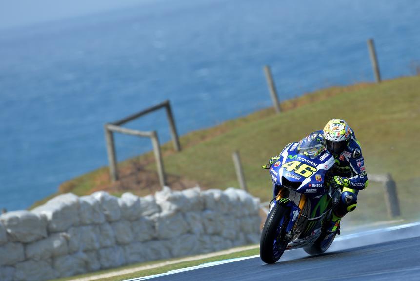Valentino Rossi, Movistar Yamaha Motogp, Phillip Island Test