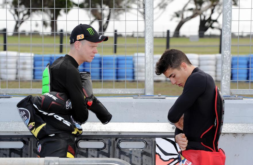 Tito Rabat, EG 0,0 Marc Vds, Phillip Island Test
