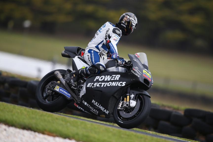 Yonny Hernandez, Aspar MotoGP Team,  Phillip Island Test