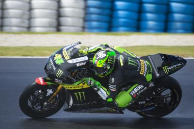 "Espargaro: ""Times were really far back"""