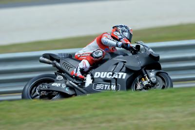 "Dovizioso: ""Today we did a lot of laps"""