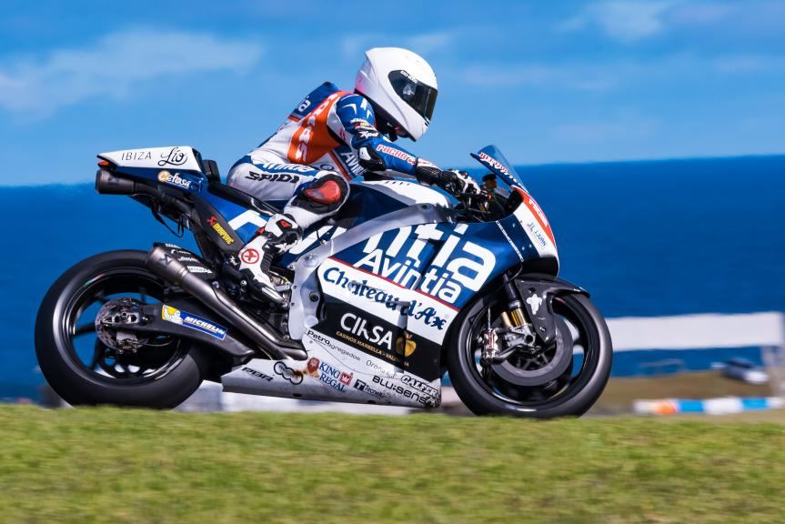 Hector Barbera, Avintia Racing, Phillip Island Test