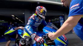 Highlights from the second day of the official MotoGP™ test at Phillip Island that saw Maverick Viñales set the fastest time.