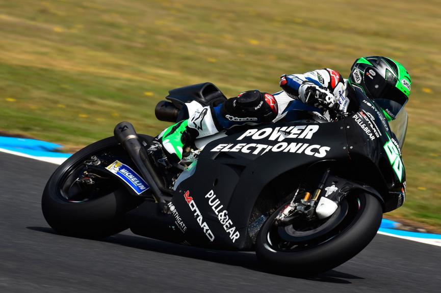Eugene Laverty, Aspar MotoGP Team, Phillip Island Test
