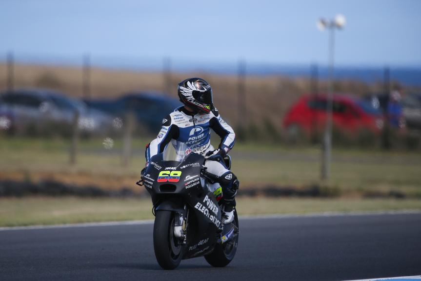 Yonny Hernandez, Aspar MotoGP Team, Philip Island Test