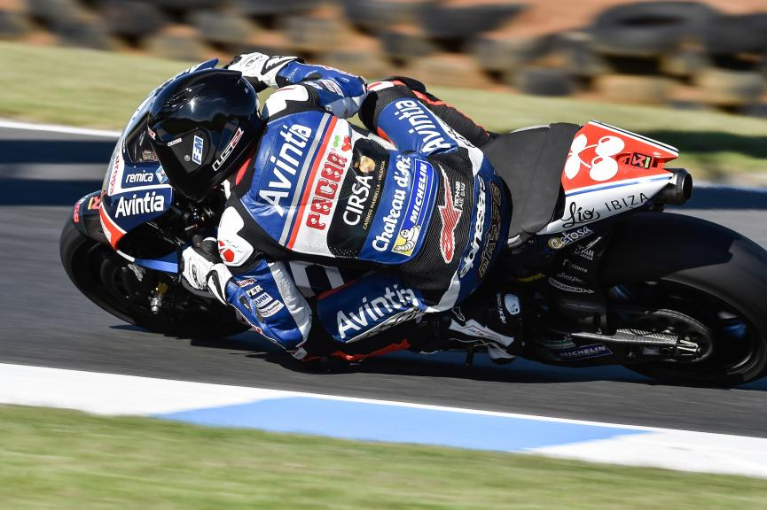Loris Baz, Avintia Racing, Phillip Island Test