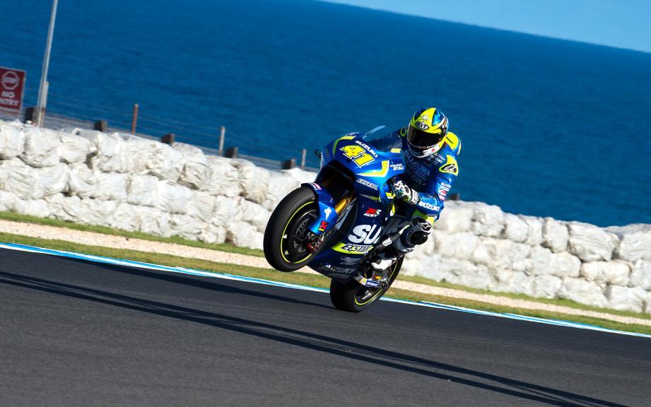 Aleix Espargaro, Team Suzuki Ecstar, Phillip Island Test