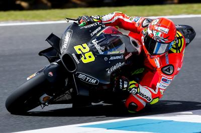 "Iannone: ""We also tested some interesting solutions"""