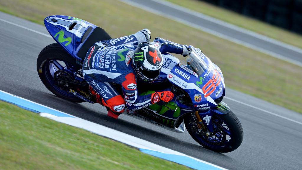 Jorge Lorenzo, Movistar Yamaha, Phillip Island Test