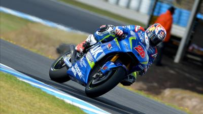Viñales tops times as sun returns to Phillip Island