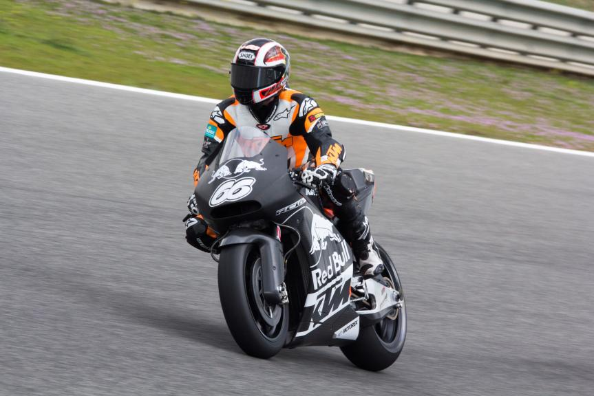 Alex Hofmann - KTM MotoGP™ Test, Jerez Circuit © Max Kroiss