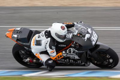 Photo Gallery: KTM complete weather interrupted Jerez test