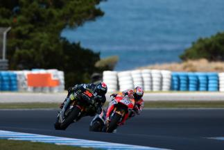 Bradley Smith, Dani Pedrosa, Monster Yamaha Tech 3, Repsol Honda Team, Phillip Island Test
