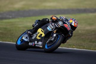 "Miller: ""I was stoked to be back on the bike"""