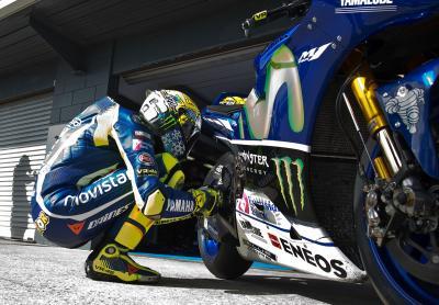 Rossi: Vermutlich eher letztjähriges Motorrad