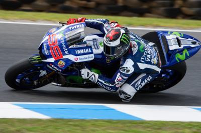Lorenzo : 'J'ai roulé avec des vieux pneus toute la journée'