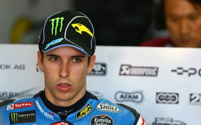 Alex Marquez injured in training crash