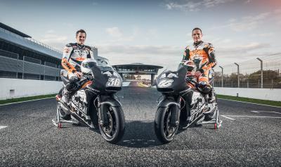 Primer test del año para KTM