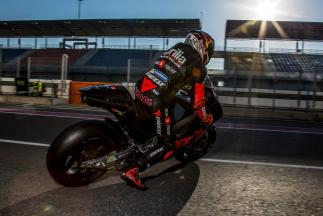 Bradl and Bautista complete first test on new Aprilia