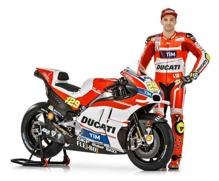 Ducati reveal 2016 livery