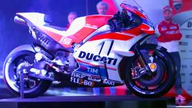 Fresh off testing in Phillip Island the factory Ducati Team unveil their 2016 look and the Desmo16 GP.
