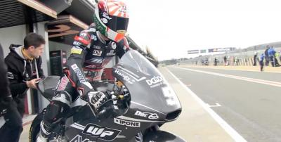 Zarco: «Las sensaciones con la moto nueva son muy positivas»