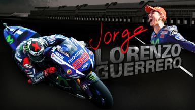 El tráiler de «Jorge Lorenzo Guerrero»