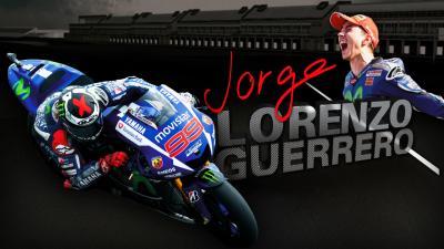 """Jorge Lorenzo Guerrero"" trailer"