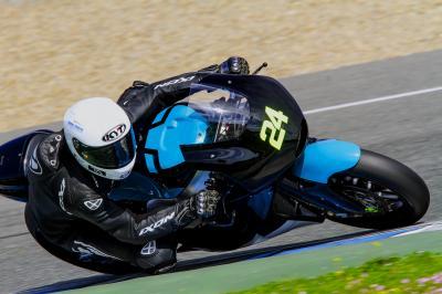 Corsi y Bastianini, los más rápidos del día en Jerez