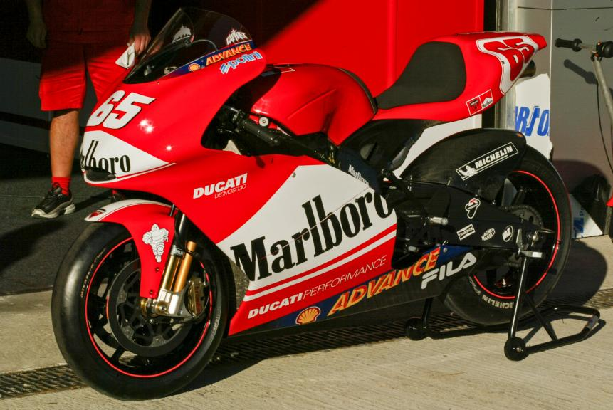 Ducati Desmosedici GP3