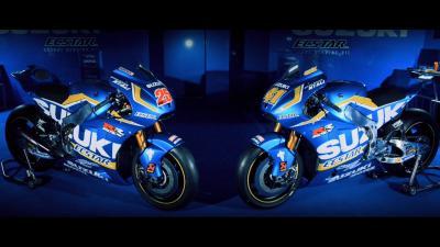 Suzuki presenta la escudería de MotoGP™ para 2016